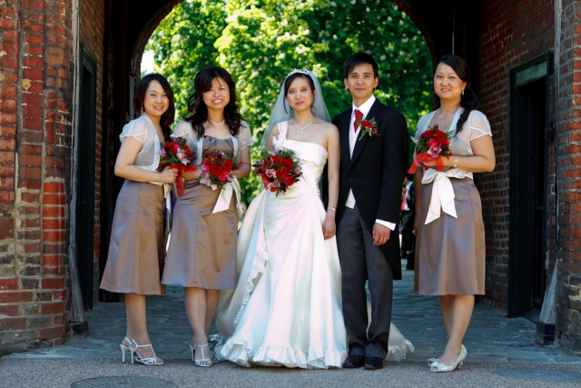 Fulham Palace Bridal Party