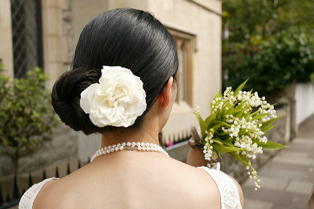 Japanese Bride's Hair Design Islington_wedding_photographer