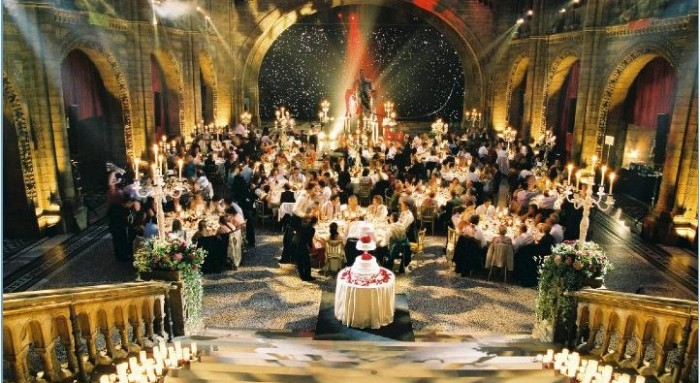 Spectacular wedding reception held at The Natural History Museum in London