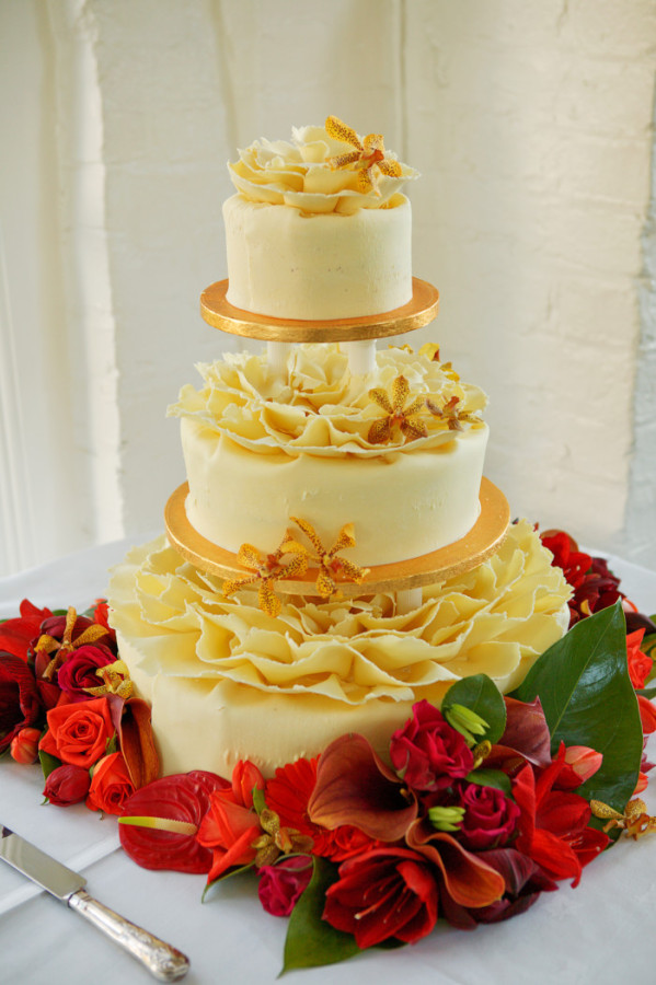 Elaborate Wedding Cake