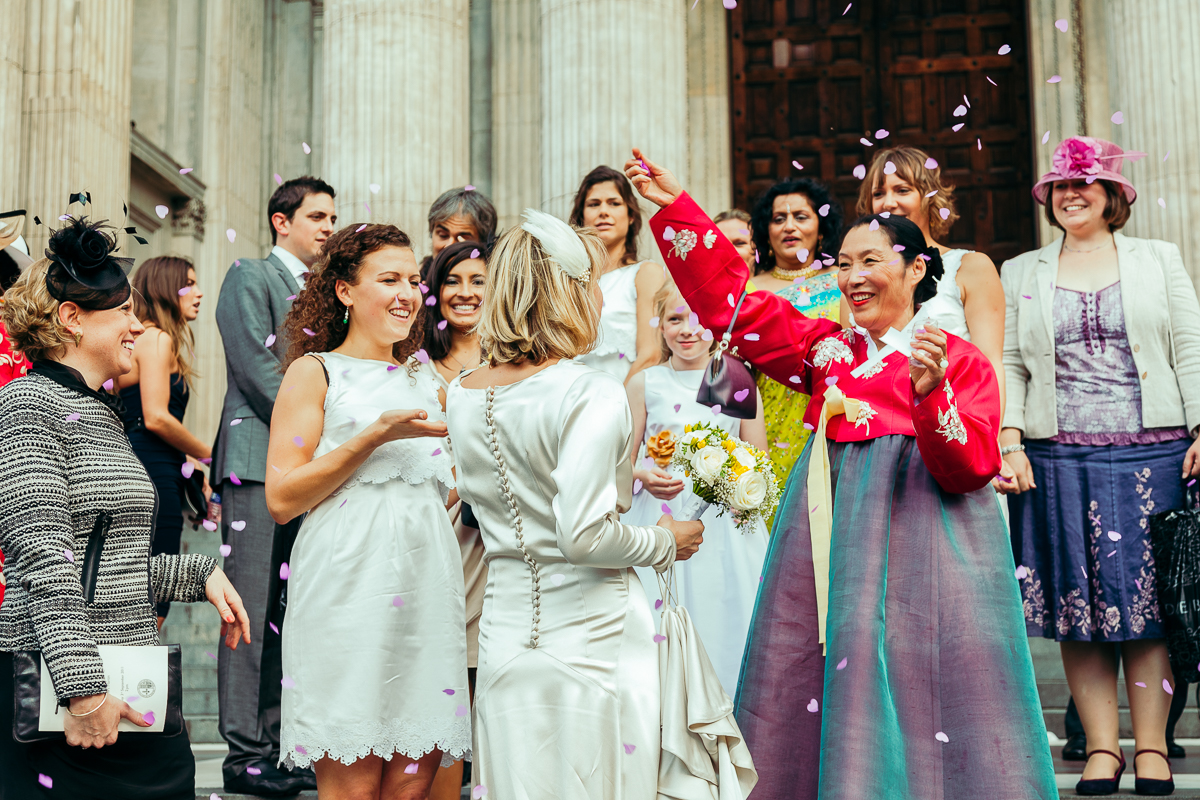 Saint Paul's Cathedral Wedding With Korean Connections